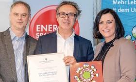 Bundesministerin Köstinger: Stiepel ist Öko-Vorbild