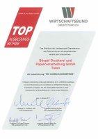 TOP Ausbildungs-betrieb (WB), 2011